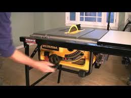 dewalt table saw fence upgrade. dewalt: raising the blade dewalt table saw fence upgrade