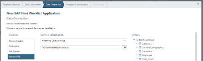 (Option 1): Creating the Initial App with an App Template in SAP Web ...