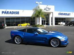 2010 Jetstream Blue Metallic Chevrolet Corvette ZR1 #18918600 ...