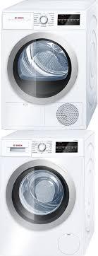 best stackable washer dryer. Bosch BOWADRE28403 Washer \u0026 Dryer Set Best Stackable R