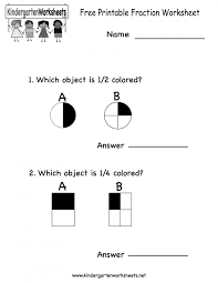 Free Kindergarten Worksheets Printable Preschool Math Best For ...