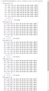 Calendar Generator Github Matepaiva Month Calendar Generator A Very Lightweight