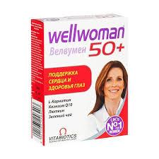 Wellwoman (<b>Велвумен</b>) <b>50</b>+ поддержка сердца и здоровья глаз ...
