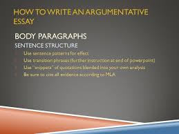 argumentative essay overview ppt video online  how to write an argumentative essay