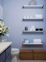 simple bathrooms designs. Bathroom Wooden Shelves Design With Cool Blue Painted Wall And Half Ideas Also Simple Bathrooms Designs D