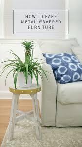 diy ikea furniture. Diy-metal-wrapped-furniture-how-to-fake-it Diy Ikea Furniture