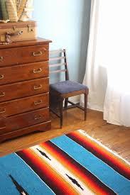 southwestern area rug on the