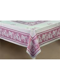 <b>Скатерть</b> двухслойная прямоугольная 137х180 розовая NIKLEN ...