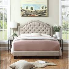 Low Upholstered Bed | Wayfair