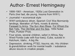 "hills like white elephants"" by ernest hemingway ppt video online  hills like white elephants by ernest hemingway 2 author ernest hemingway"