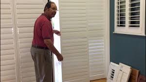 Glass Door plantation shutters for sliding glass door photos : Plantation shutters for sliding glass doors - Window treatments ...