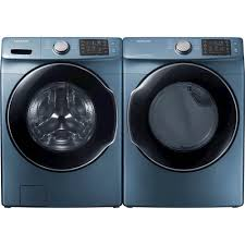 colored washer and dryer. Delighful Washer Ft 10Cycle Electric Dryer With Steam Blue DVE45M5500Z  Best Buy In Colored Washer And D