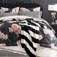 black blush bed of roses girls