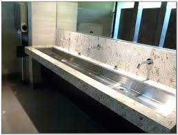 best of trough sinks for bathrooms and trough sink bathroom sinks for bathrooms trough sinks for