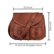 com kpl 14 inch leather purse women shoulder bag cross satchel las tote travel purse genuine leather tan brown komal s passion leather