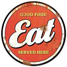 American Diner Kitchen Accessories Vintage Food Signs Ebay