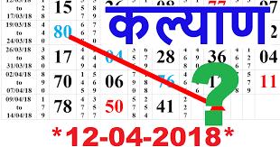 Morning Syndicate Panel Chart Main Ratan Mumbai Panel Chart