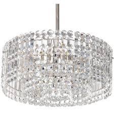 geometric crystal prism chandelier by kinkeldey