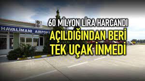 Balıkesir Merkez Havalimanı'na açıldığından beri tek uçak inmedi!