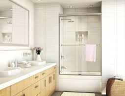 bathroom doors uk aqua 4 127 5 x 82cm pivot bath screen