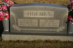 Ida Ray Holmes (1883-1952) - Find A Grave Memorial