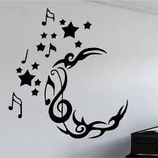 zen graphics note moon wall art