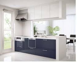 White Kitchen Laminate Flooring Kitchen Brown Varnished Wood Kitchen Cabinet Grey Marble