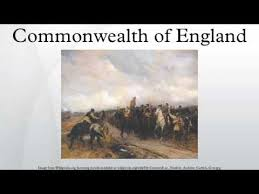 「1649 – An Act of Parliament declaring England a Commonwealth」の画像検索結果
