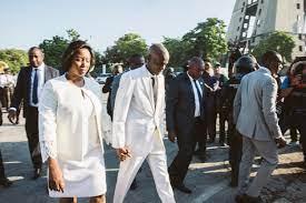 Haiti's First Lady Martine Moïse was ...