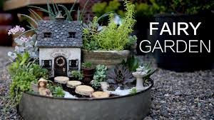 Fairy Garden Pictures Succulent Fairy Garden Youtube