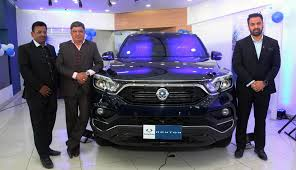 ims motors launches ssangyong rexton in nepalese market