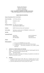 How To Write Meeting Minutes Writing Minutes Of Meeting Template Allthingsproperty Info