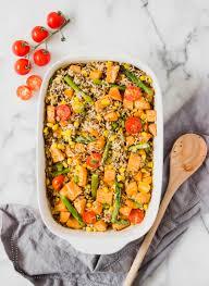 okay recipe time sweet potato and brown rice quinoa