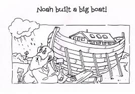 Small Picture Coloring Pages Noahs Ark Coloring Page Fun