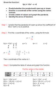 graphing quadratic inequalities worksheets math aids com quadratic functions worksheet algebra 2