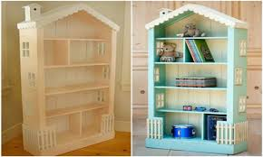 barbie doll furniture plans. Diy Barbie Doll House From Book Shelf Ikea Child Bookcase Plans Dollhouse Furniture Patterns Accessories Making