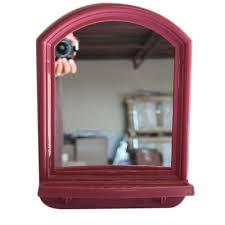 8x10 inch plastic frame mirror
