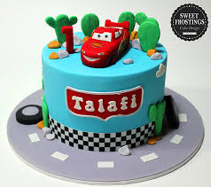 Kids Birthday Cakes Sweet Frostings Cake Design