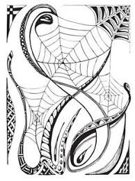 web drawing spider web cute spider halloween art and printables pinterest