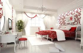Red And White Bedroom Master Bedroom Colors On Bedroom Master ...