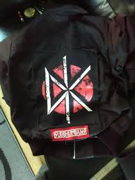 just finished sewing my first 2 patches onto my jacket