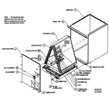 Icp upflow downflow txv cased coils parts model edd4x24fa2 rh searspartsdirect evaporator coil diagram home ac system diagram
