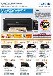 Epson Printer Price List L850
