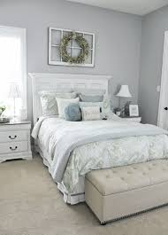 Lamps on either side of the bed give extra light in case you have a guest  who is a night owl but whose partner isn't.