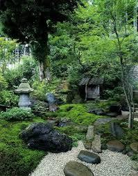 best photo japanese garden waterfall