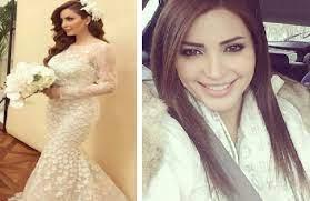 بعد انتشار هذه الصورة ..ما حقيقة زواج الممثلة نسرين طافش؟!
