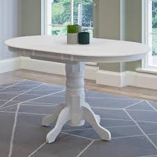 dining room tables oval. Beautiful Room CorLiving Dillon White Wood Extendable Oval Pedestal Dining Table With Room Tables O
