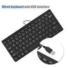 K-1000 USB Kablolu Mini Q Klavye Bilgisayar Laptop PC Fiyatları ve  Özellikleri