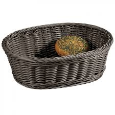 <b>Корзина</b> для хлеба и фруктов <b>плетеная Kesper</b> 29,5х23 см серая ...