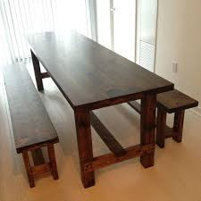 long skinny table and bench narrow dining with benches storage